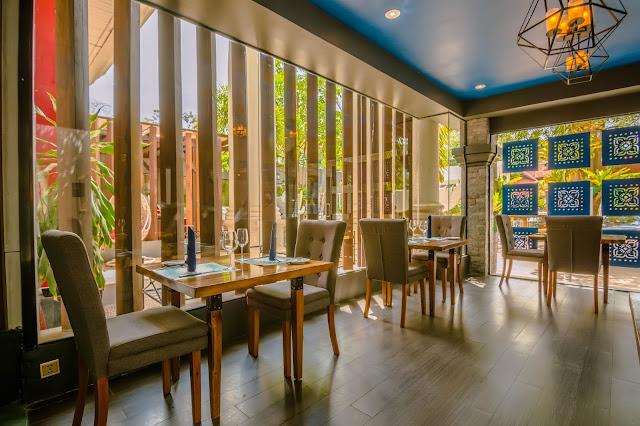 A fine-dining restaurant in Siem Reap