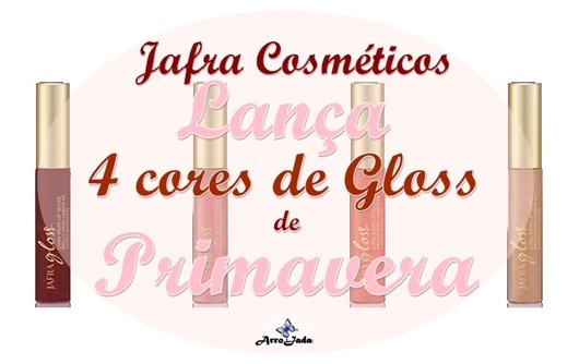 Linha Long Wear Lip Gloss - Jafra Cosméticos