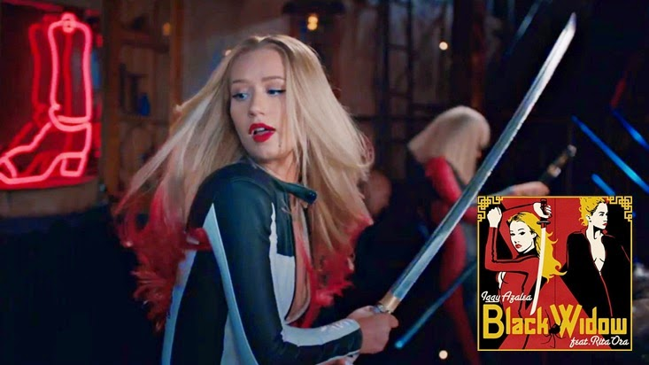 The Record Blog Music Video Review Iggy Azalea Black