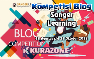 Kompetisi Blog - Sanger Learning Berhadiah Beasiswa, Uang Tunai dan Voucher Belanja + Sertifikat