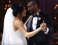 Fenerbahçe Futbolcusu Selçuk Şahin ve Emel Demiryürek Raffles İstanbul Otelindeki Düğünleri
