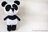patron amigurumi gratis oso panda 3