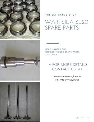 Wartsila, 6L20, Engine, Motor, Overhauling,Repair, Kit, piston, liner, Head, Cover, Block