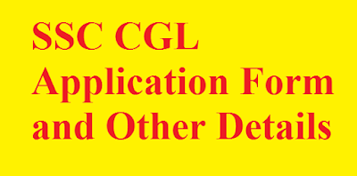 SSC CGL Application Details