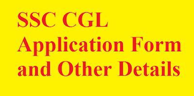 SSC CGL Application Details