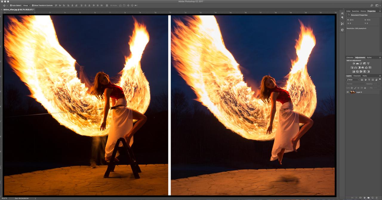 меня фотографировали горящее крыло скрап-варежка