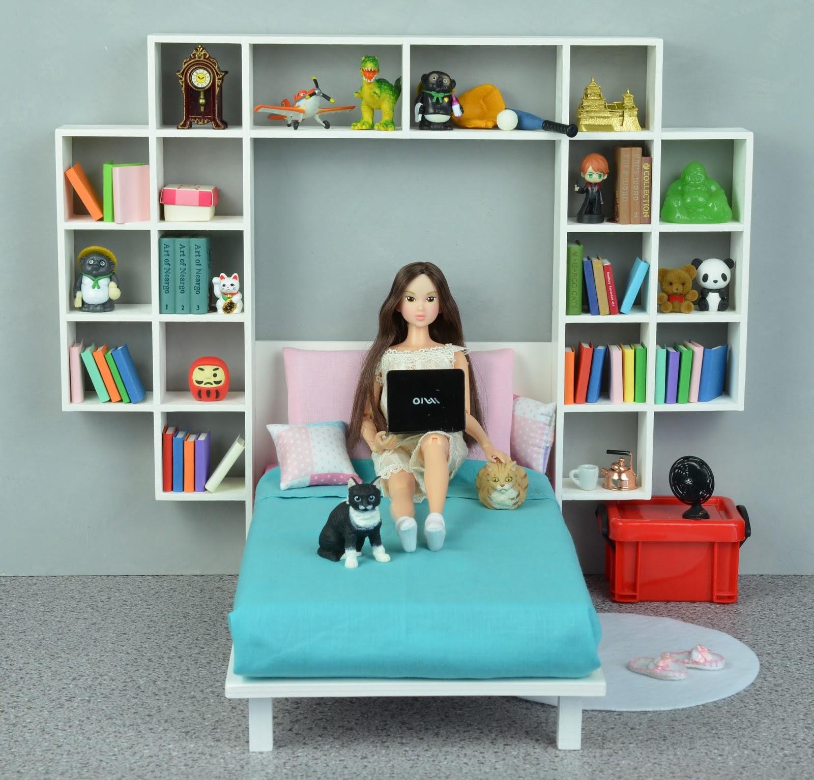 Letto Con Libreria A Ponte my momoko world: letto con libreria a ponte / bed bridge