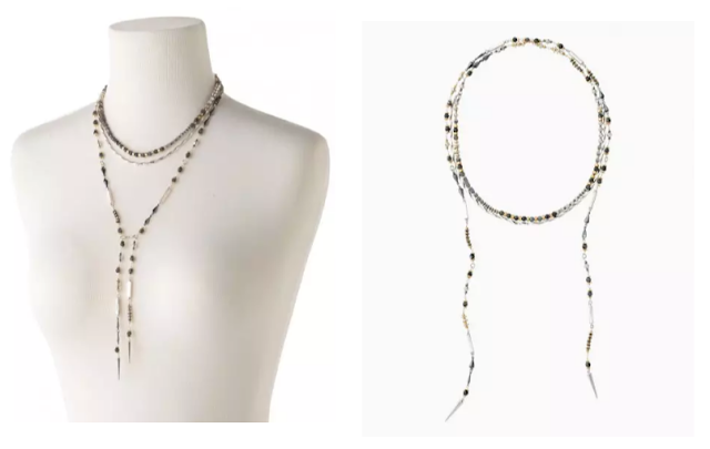 Amelie Lariat Necklace as seen on Holly Robinson Peete