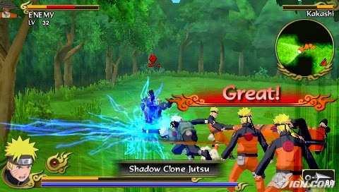 download Naruto Shippuden Legends Akatsuki Rising psp