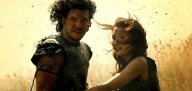 Emily Browning şi Kit Harington în noul trailer pentru filmul istoric Pompeii