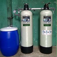 alat penyaring air sederhana