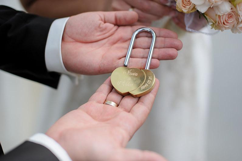 vestuvių spyna