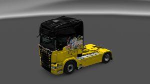 Regular Show Skin for Scania RJL