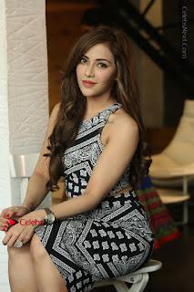 Telugu Actress Angela Krislinzki Latest Pos in Short Dress  0196.JPG