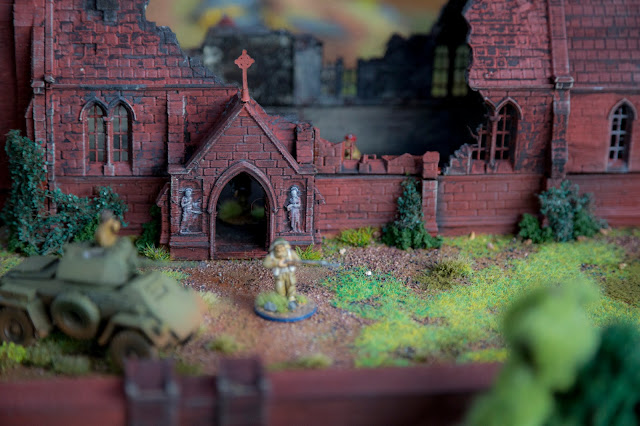 Printable Scenery - 3D Printable Wargame Miniature Bolt Action Church