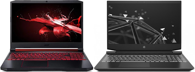 Acer Nitro 5 AN515-54-52G3 vs HP Pavilion Gaming 15-ec0007ns