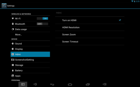 How To Use Hdmi Video Output From E Ceros Vision Tablet On
