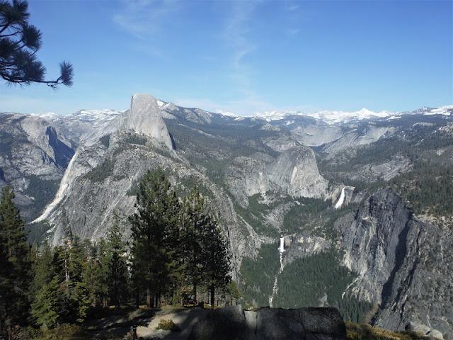 Half Dome & Yosemite Falls