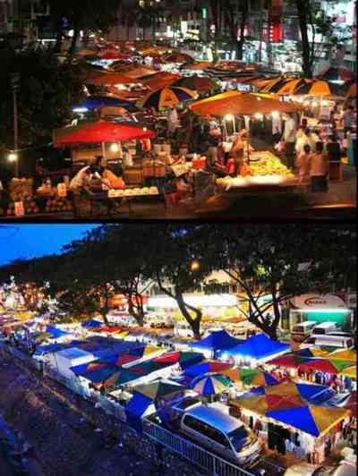 welcome to Johor Baru night Market location