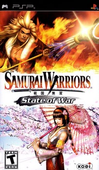 Download Samurai Warriors State Of War CSO + Save Data PSP PPSSPP