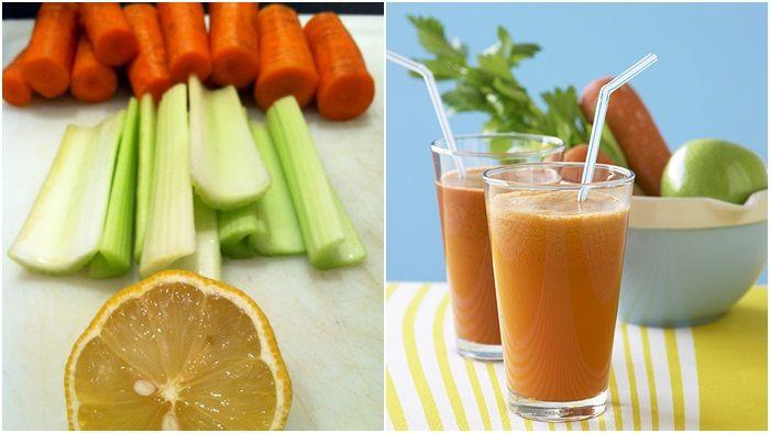 Jus seledri wortel bermanfaat untuk kesehatan