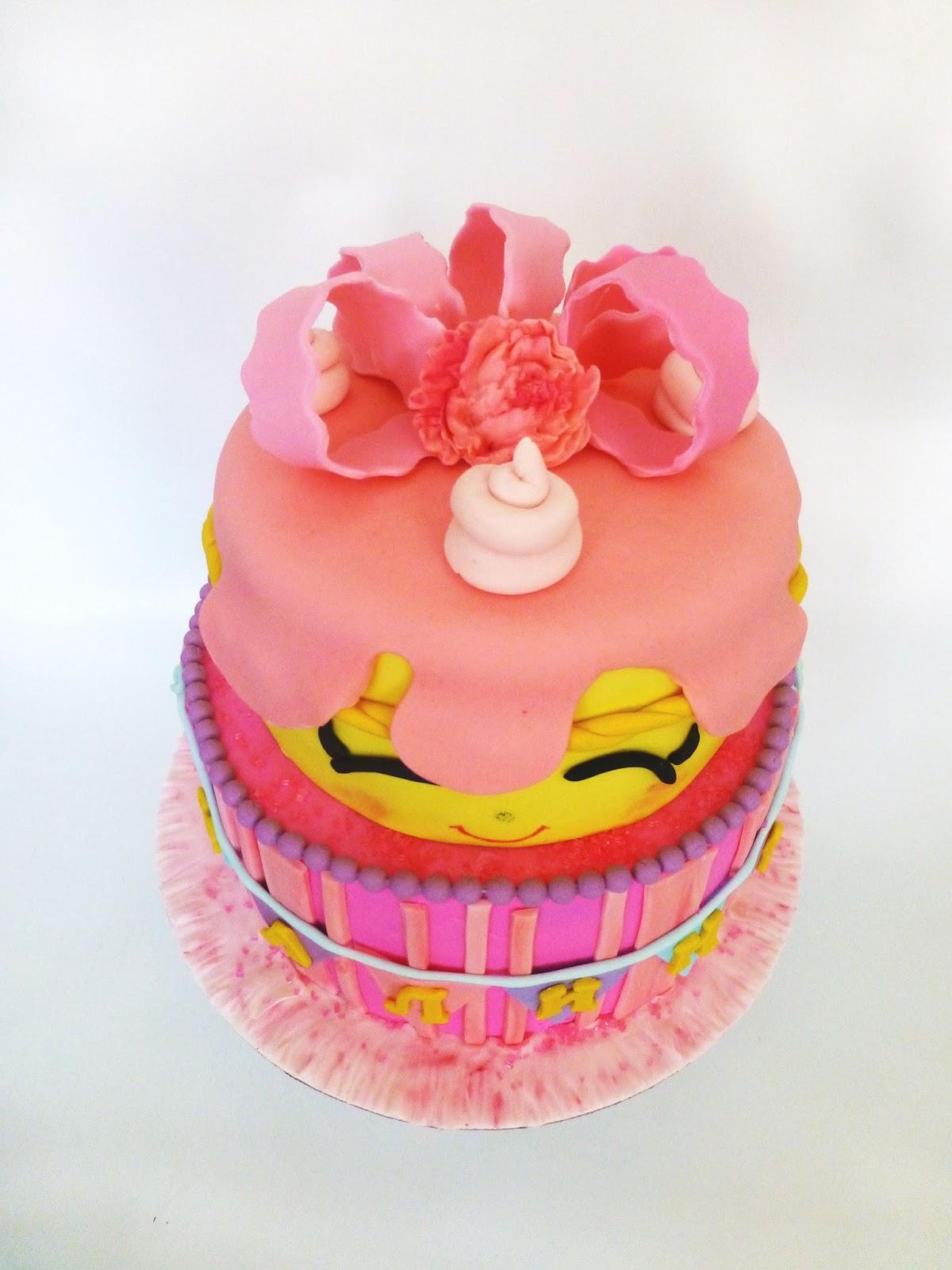 how to make a shopkins cake