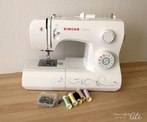 Beginner Sewing - basic list of sewing supplies to get started sewing