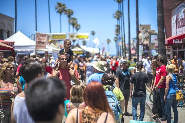 Movimentação de turistas e hospedagens no mês de julho em San Diego