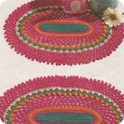 Tapete para Tocador a Crochet