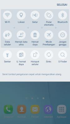Statusbar terbaru touchwiz