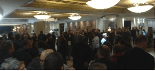 Επίθεση με λοστούς πριν το συνέδριο της ΓΣΕΕ στη Ρόδο -Επεισόδια και τέσσερις τραυματίες [βίντεο]