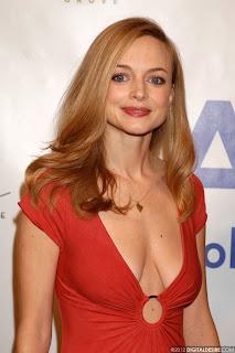 Heather Graham Sexy Red Dress 1