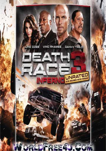 Poster Of Death Race | Inferno (2013) Full Movie Hindi Dubbed Free Download Watch Online At worldfree4u.com