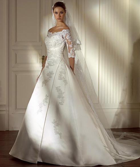 Simple Elegant Wedding Dress With Sleeves Woman And More: Svatební Agentura Amoroso: Jednoduché Svatební šaty