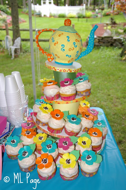 Alice in Wonderland Tea Party Baby Shower Theme