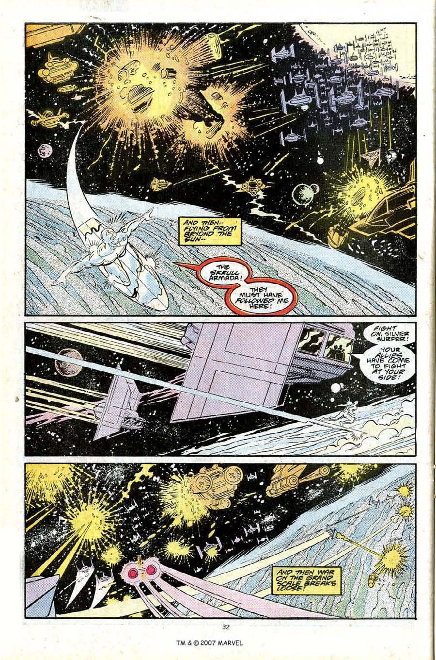 Read online Silver Surfer (1987) comic -  Issue #25 - 34