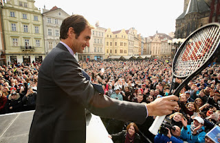 Photos: Roger Federer Launches Laver Cup