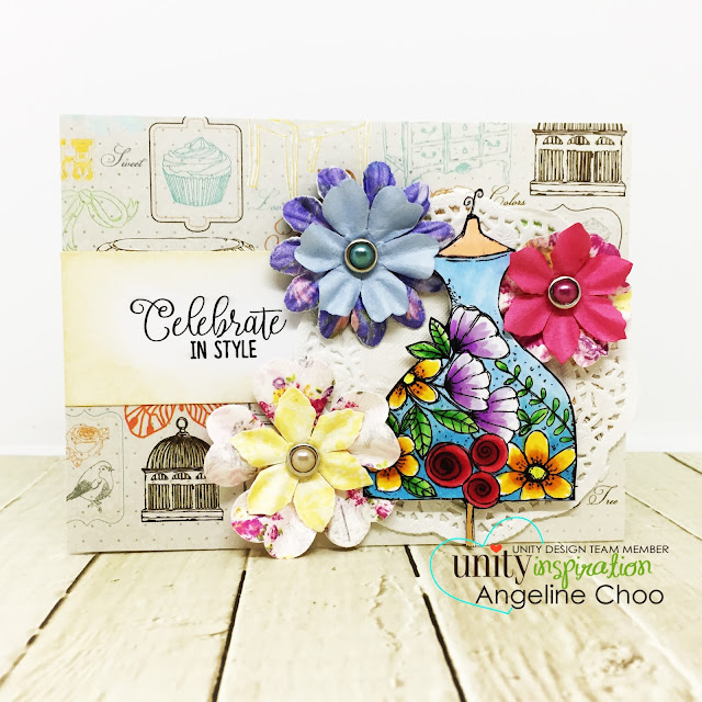 ScrappyScrappy - Unity Stamp's Birthday celebration continues - Best of the Best #scrappyscrappy #unitystampco #primamarketing #vintageflora #paperflowers #copicmarkers #quicktipvideo #youtube #bestofthebest