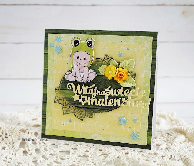 Kartka dla maluszka/DT CraftPassion