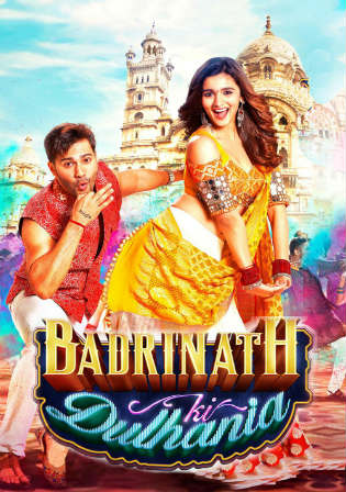 Badrinath Ki Dulhania 2017 DVDRip 400MB Hindi 480p ESub Watch Online Full movie Download bolly4u