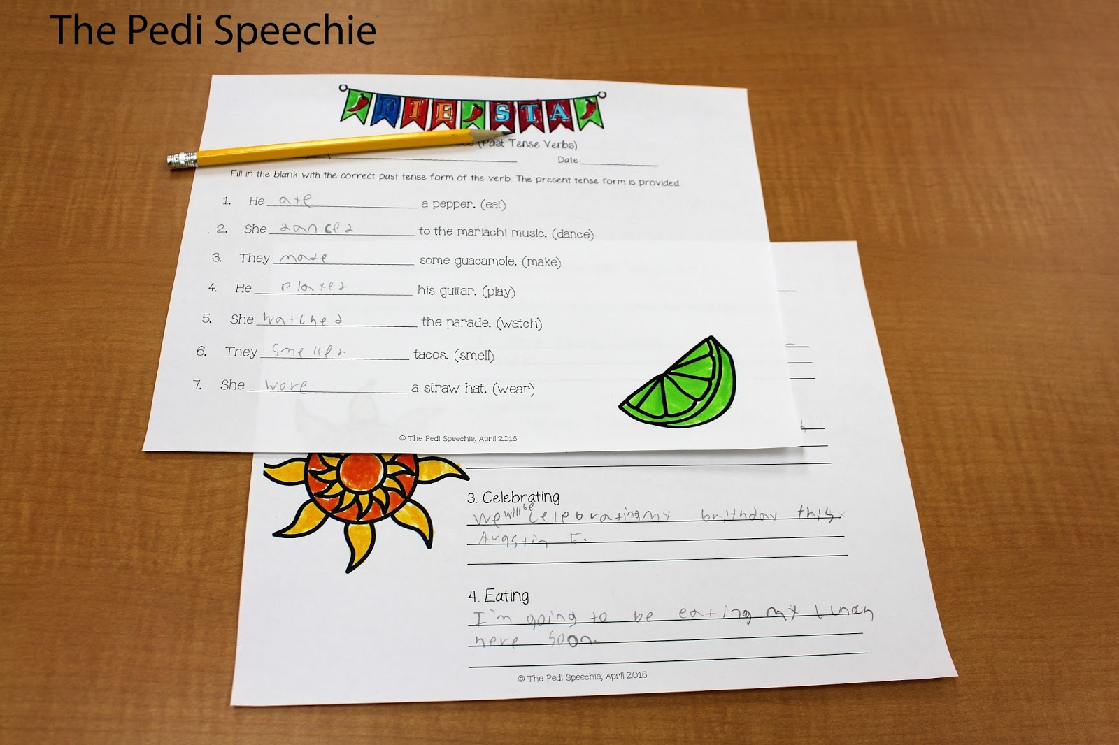 Cinco De Mayo Speech Therapy