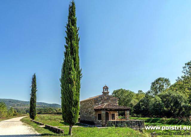Putopisi po Istri dolina rijeke Mirne uz Ponte Porton-Antenal @ Tar i Kostanjica 16.09.2018