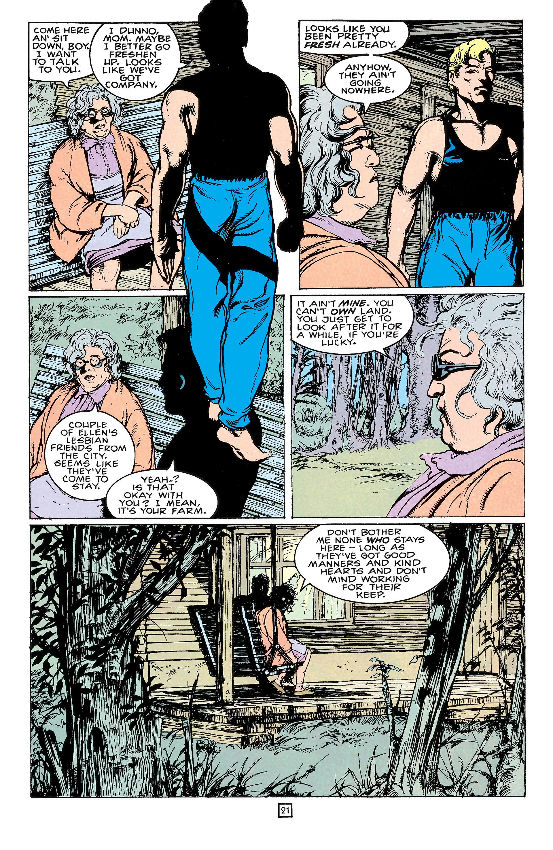 Read online Animal Man (1988) comic -  Issue #65 - 21