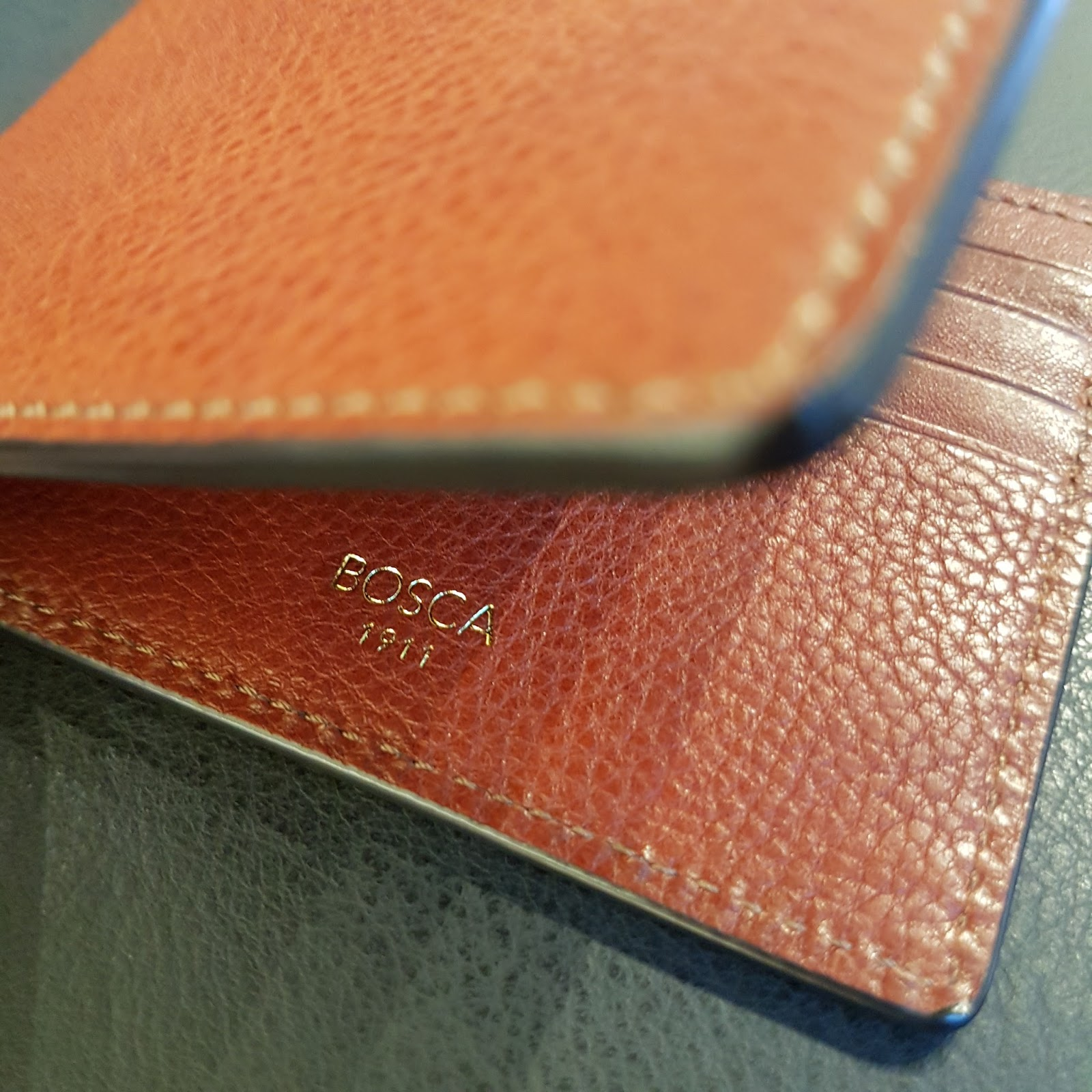 a6b1d3b9896 Bosca is a third generation Italian-American leather goods company  established in 1911. Their designs are timeless, and their craftsmanship  impeccable.