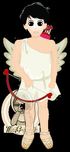Tempahan Design Doodle Mr. Cupid
