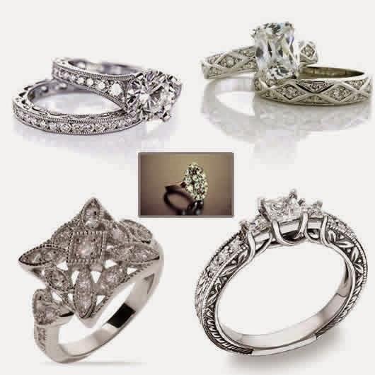 Trend gaya foto model cincin kawin emas putih berlian paling mahal tahun ini