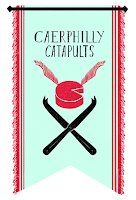 Stendardo dei Caerphilly Catapults