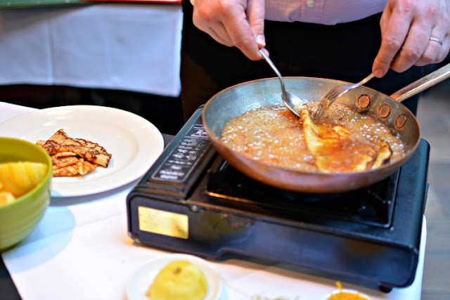 brasserie gustave french restaurant london Crepes Suzette A La Victor