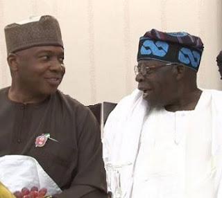 At Last Saraki, Tinubu RECONCILES, In Secret Alliance Against Buhari's Ex-Military Opportunists