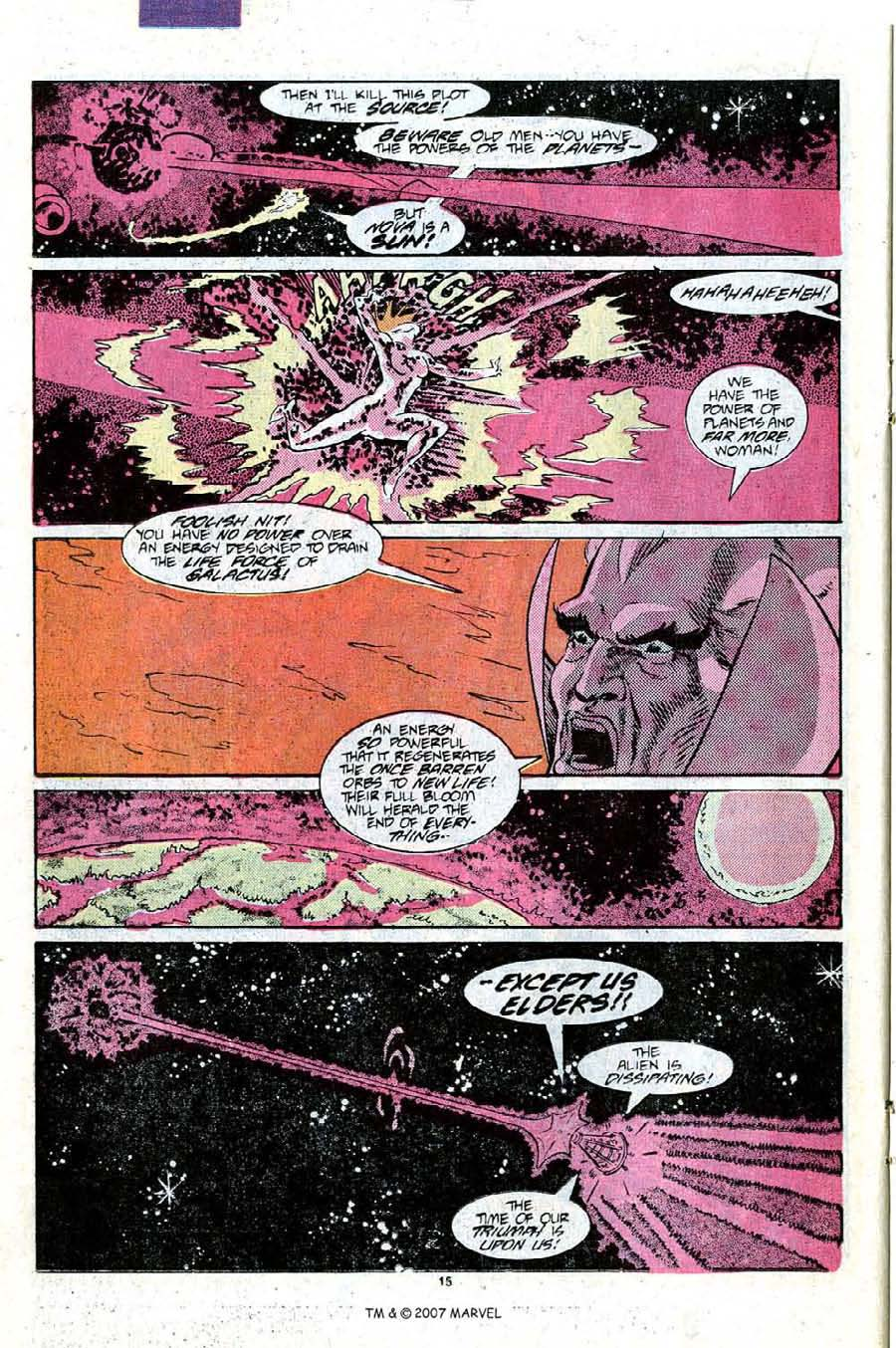 Read online Silver Surfer (1987) comic -  Issue #9 - 22